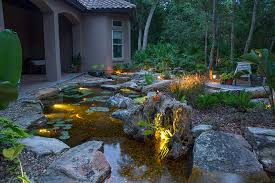 feature lighting ideas. Water Garden Lighting \u0026 Landscape Ideas In Rochester New York (NY) By LED Feature H
