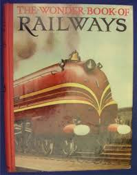 the wonder book of railways front cover