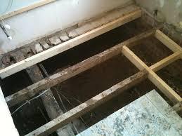 bathroom subfloor replacement. Replacing Rotten Joists With Bathroom Installation In Leeds Subfloor Replacement