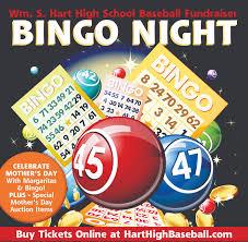 Hart Baseball Bingo Fundraiser Returns Saturday Santa