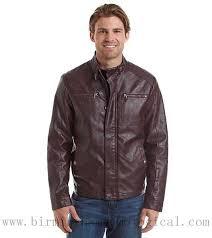 men apparel kenneth cole reaction faux leather moto jacket burdy coats jackets gbledeg5lwuy8k9
