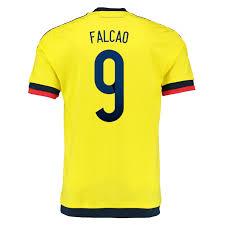 Soccer 'falcao yellow com 49 Jersey 2015 - 9' Colombia M62788 Soccercorner 103 Adidas Navy collegiate Home Jerseys
