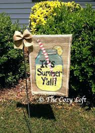 burlap easter garden flag best ideas about garden flags on yard decorations burlap house flags evergreen burlap easter garden flag