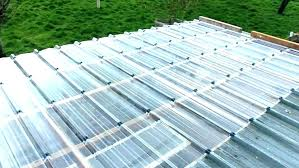 clear roofing panels corrugated for