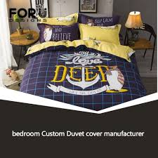 professional bedroom custom duvet cover manufacturer advanced fashion best zhengyu