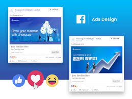 Facebook Website Design Facebook Ad Design Mockup By Ankit Agarwal On Dribbble
