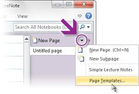 Onenote 2010 Templates 5 Things You Wanted To Know About Onenote 2010 Microsoft 365 Blog
