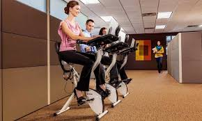fitdesk v2 0 desk exercise bike with massage bar review