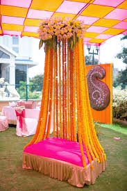 Indian Wedding Stage Decoration With Flowers  Decorative FlowersIndian Wedding Decor For Home