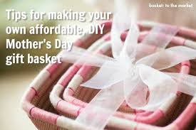 how to make your own easy diy me time mother s day gift basket