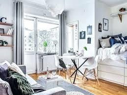 Decorating One Bedroom Apartment Mesmerizing Apartment Living Room Decorating Ideas Perfect Studio Apartment