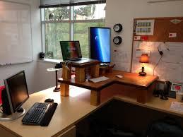home office setup small office. Inspiration Office Adorable Small Home Creative E Saving Design Cly Carpenter Made Laptop Setup D