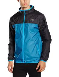 new balance jacket mens. new balance men\u0027s windcheater jacket - blue, 2x-large: amazon.co.uk: sports \u0026 outdoors mens