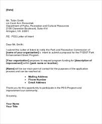 75 Formal Project Proposal Letter Of Intent Format By