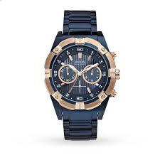 guess jolt mens watch gifts goldsmiths guess jolt mens watch