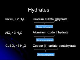 Writing and Naming Binary Compounds & Hydrates You will need: A ...