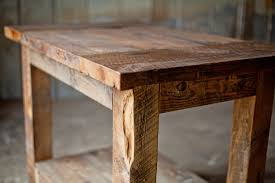 reclaimed wood kitchen island rustic sons of sawdust