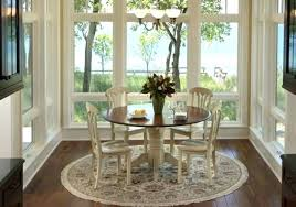 round dining room rugs. Contemporary Dining Room Rugs Small Design With Large Windows Round Table Wooden Chairs .