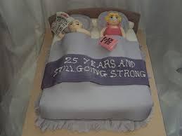 11 Funny Husband Happy Anniversary Cakes Photo 25th Wedding