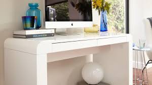 White work desk Decor White Gloss Work Desk Danetti Modern White Gloss Desk Drawers Office Study Bedroom
