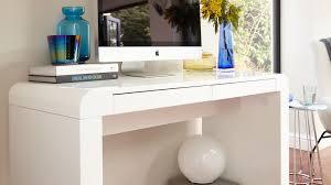 White work desk Decor White Gloss Work Desk Danetti Modern White Gloss Desk Drawers Office Study Bedroom