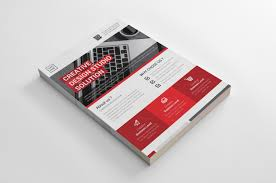 How To Make A Business Flyer Knight Creative Business Flyer Design Template