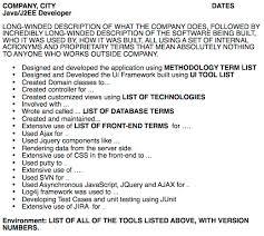 Agile Resume Enchanting The Worst Developer Resume In The World DZone Agile
