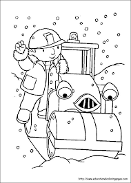 Small Picture Bob the Builder Coloring Pages Educational Fun Kids Coloring