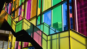 colored glass panels designs
