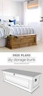 diy blanket storage chest nick