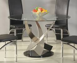glass round dining table set modern glass dining table dining set with round glass table full