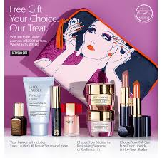 estÉe lauder free gift your choice our treat with any estée lauder purchase of