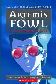 book artemis fowl the graphic novel by eoin colfer