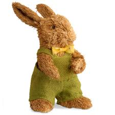 Rabbit Decorative Accessories National Tree Company 1000010000 in Brown RabbitRAE10000100 The 84