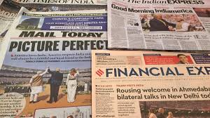 Learn vocabulary, terms and more with flashcards, games and other study tools. Trump In India Newspaper Headlines On Potus Visit India News India Tv