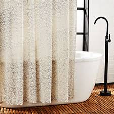 Shower curtains White Tiago Pink And Blue Shower Curtain Cb2 Unique Modern Shower Curtains Cb2