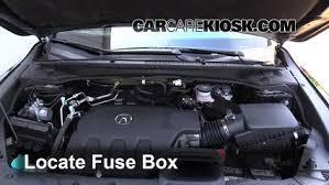 replace a fuse 2013 2016 acura rdx 2014 acura rdx 3 5l v6 locate engine fuse box and remove cover