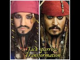 johnny depp jack sparrow pirates of the caribbean makeup tutorial