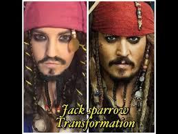 johnny depp jack sparrow pirates of the caribbean makeup tutorial