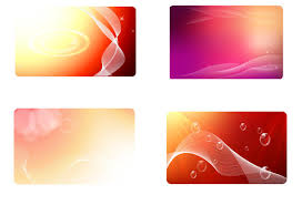 business card background glowing red business card background set vector download