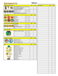Badge Tracker Girl Scout Senior Girl Scout Badges Girl Scouts