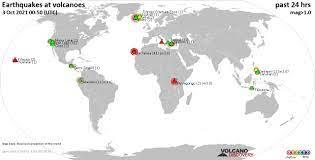 Volcano earthquake report for Monday, 4 ...