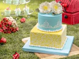 faux wedding cake. cake inspiration specializes in faux wedding cakes. the treasured tradition whereby bride and groom cuts a slice from their grand display