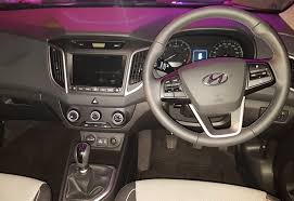2018 hyundai creta interior. beautiful interior the interior is predictably laid out and it not difficult navigating  through dials controls leather seats are standard across the range  with 2018 hyundai creta a