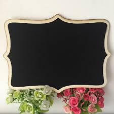 decorative chalkboards for various functions. Decorative Chalkboards For Various Functions | CafeMomonh ~ Home Design Magazine