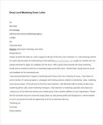 11 Marketing Cover Letter Templates Free Sample Example