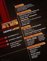 Resume Graphic Designer Graphic Design Resume Sample Guide