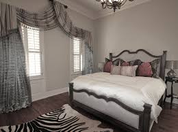 Bedroom  Design Ideas Interior Transparent Grey Master Bedroom - Master bedroom window treatments