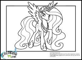 Small Picture My Little Pony Princess Celestia Coloring Book Friendship Is Magic