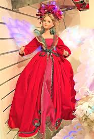 Image result for christmas red gown